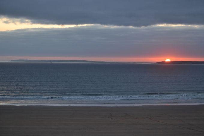 Sunset on Ballybunion Beach