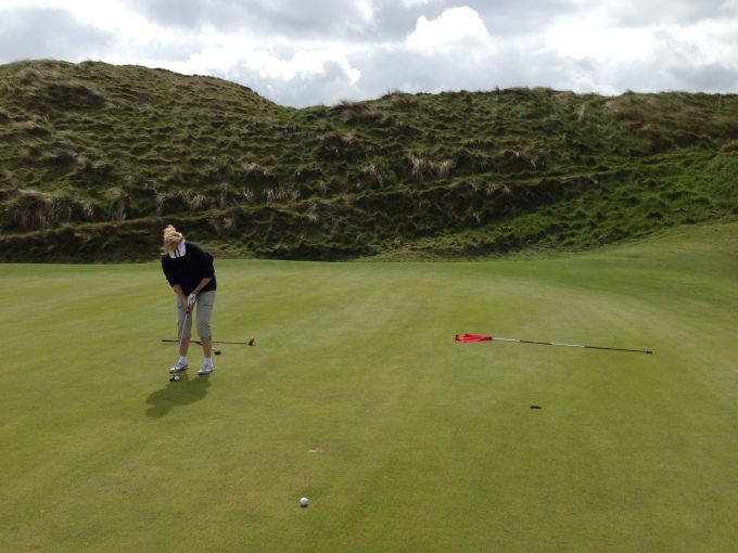 17th Green Ballybunion