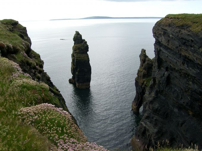 The Devil's Castle at Bromore Cliffs
