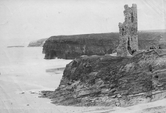 Ballybunion Castle 1900s