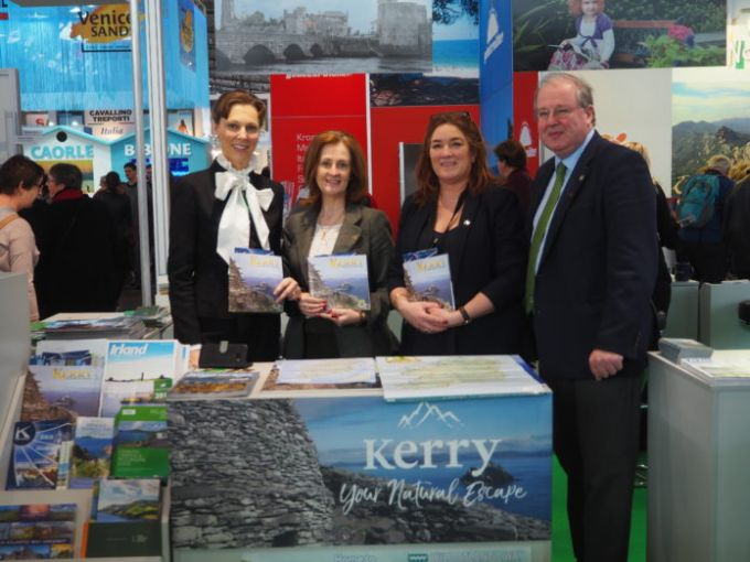 Promoting-Kerry-at-CMT-Travel-Fair - Mr John Griffin