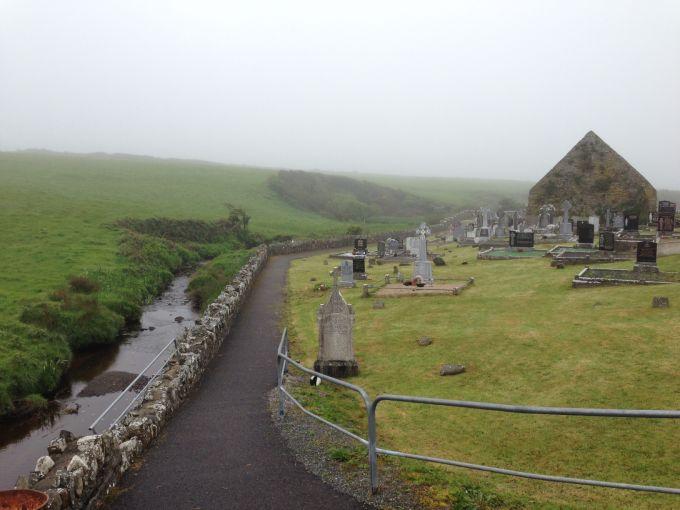 Kilconly Graveyard and Church