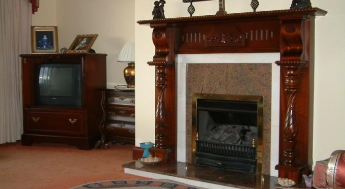 Seanor House B & B Fireplace